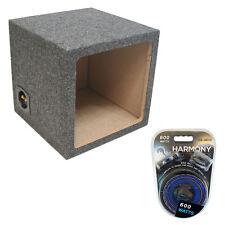 """Square Kicker 15"""" Sealed L3 L5 L7 Solobaric Subwoofer Box Sub Enclosure Amp Kit"""