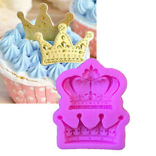 3D Silicone Crown Shaped Baking Mold Fondant Sugar Craft Cake Decorating Tools