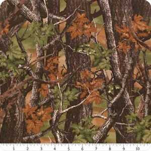 Realtree Fabric Camo in Snow White From Sykel 100/% Cotton Premium Quality