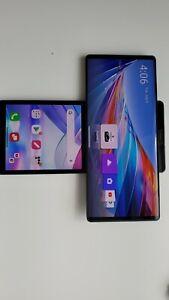 READ DESCRIPTION LG Wing 5G - 256GB - Gray (Verizon + T-MOBILE) Smartphone 243