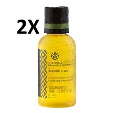 2X Teadora Nourishing Bath and Body Oil, 2oz/57gr, Smoother Skin, Made in USA