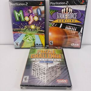 Puzzle Challenge, Strike Force, Mojo lot 3 (Sony PS2)