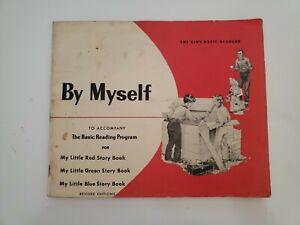 "Ginn Basic Readers ""By Myself"" Workbook, 1962"