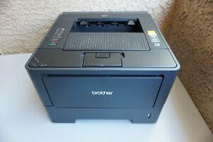 Brother HL-5450DN Workgroup Laser Printer Tested Works