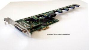 Sangoma A40603DE 12FXS 6FXO analog card w/ EC HW - PCIe