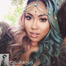 Stylist Popular Turquoise Head Chain Headband Headpiece Hair Band UK Seller
