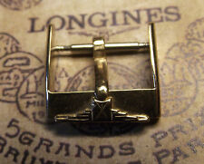 LONGINES VINTAGE ULTRA RARE '50 GOLD COLOR BUCKLE 16 mm FOR 18/20 BAND - SWISS