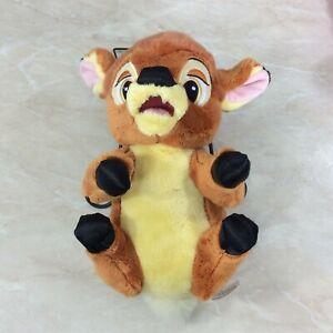 "Disney Babies Baby Bambi Plush Doll Toy Stuffed 11"" Tall No Blanket"
