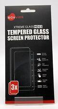 3 x Savvies Xtreme HD33 Display Schutz Glass für Huawei Smart Watch GT/GT Active