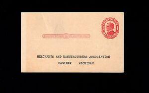 Saginaw Michigan Saleman Schultz Exide Batteries Moves 1924 Postal Card 3n