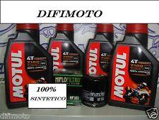 MANTENIMIENTO ACEITE MOTUL 7100 10W-40 POLARIS Sportsman HO 400 2010-2011