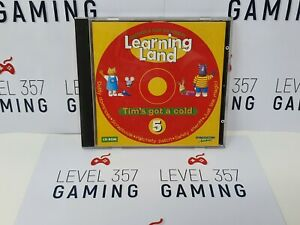 LEARNING LAND-DISCOVER & PLAY ON YOUR PC-CD-ROM 5# *TIM'S GOT A COLD*