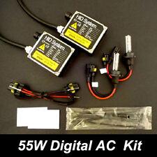 55w Single Beam 55 w watts AC HID Xenon Conversion Kit 9005 9006 H1 H7 H11 H4 H3