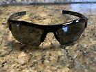 Under Armour UA Igniter Shiny Black Frame Gray Polarized Mirror Lens Sunglasses