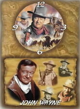 John Wayne (The Duke) Wall Clock  It would make a great  Gift