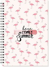 Food Diary Diet Journal Slimming World Compatible Weight Loss TrackerA6 Flamingo