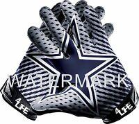 """Dallas Cowboys 4LIFE  6""""  Car Window Or Wall Vinyl Glossy Glove Sticker Decals"""