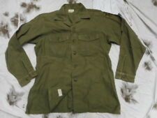 ORIGINAL 1974 US ARMY issue OG 107 UTILITY SHIRT VIETNAM War 16 1/2 X 34 L LARGE