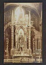 P42 Vintage Postcard TEMPLE 'LOS ANGELES' DURANGO SAN DAVAL MEXICO Posted 1955
