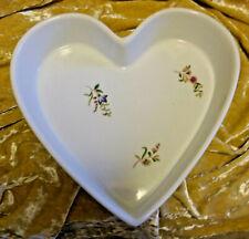 Heart Shaped Baking Dish - Bonnie Cuisine - Floral