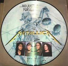 METALLICA ..AND JUSTICE FOR ALL 180 GRAM PICTURE DISC VINYL LP NEW IMPORT BRAZIL
