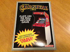 CARNIVAL  - for COLECOVISION Video Game System - CASE FRESH - NEW & SEALED - NIB