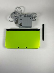 Nintendo New Nintendo 3DS XL LL Lime Black Console Japan Used [Excellent]