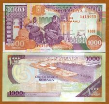 Somalia, 1000 shillings, 1996, P-37b, UNC > Basket Weavers