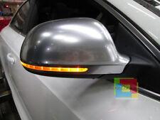 AUDI A6 S6 4F C6 2008-2010 COPERTURE SATINATE SLINE SPECCHI CALOTTE CON FORO