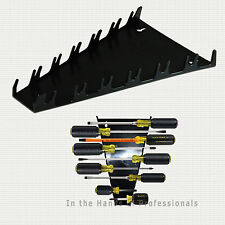 ernst mfg 5091 BK 12 screwdriver organizer for toolbox & wall storage black