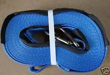 2 of 75MM x 11M  3000kg STRAP FOR TRUCK LOAD WINCH /TRAILER UTE RATCHET TIE DOWN