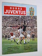 HURRA JUVENTUS # N°4  1966 # ANZOLIN  # FIORENTINA  # SPAL #  ROMA