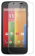 3 x clair lcd protecteur d'écran film feuille économiseur pour Motorola Moto G/XT1032