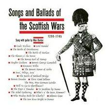 CD Songs and ballads of the Scottish wars - Max Dunbar / Military music IMPORT