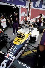Nelson Piquet Williams FW11B San Marino Grand Prix 1987 fotografía