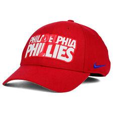 Philadelphia Phillies Nike MLB Verbiage Logo Cap Hat Unisex Baseball Swoosh Flex