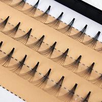 60pcs/Box Coasmetic Individual False Stand Eyelashes Grafting Cluster Eye Lashes
