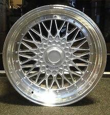 """4 x 18"""" BBS RS STYLE ALLOY WHEELS VW BEETLE BORA GOLF AUDI A1 A3 SEAT SKODA"""