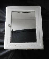 Antique Vintage Medicine Cabinet Metal with Mirror United Mfg. 1920's #4