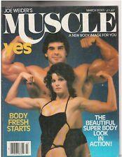 Muscle Builder Bodybuilding Magazine LOU FERRIGNO+Lisa Lyon/Gironda/Platz 3-80