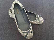 1381785ea199 Louis Vuitton Debbie Ballet Flats Shoes Size 37