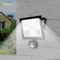 Motion Sensor LED Flood Light 10W 30W 50W 220V Floodlight Searching Lamp IP65 C