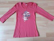Shirt S.Oliver 3/4 Arm rot mit Aufdruck Gr. 34