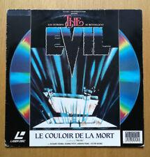 Laserdisc The Evil, le couloir de la mort 1978 PAL