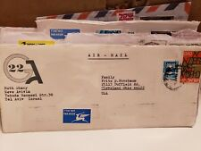 17 Family Fritz S. Nussbaum Israel to US Postal Covers with Stamps