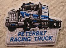 Peterbilt Racing Truck Aufnäher Patch 7,5 x 10 cm NEU (A54v)