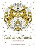 Enchanted Forest : Artist's Edition: 20 Drawings to Color and Frame, Paperbac...