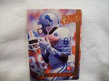 1991 Action Packed Football Herman Moore #1 - Detroit Lions Rookie card
