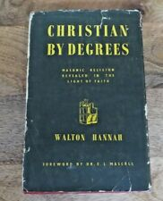 1954 CHRISTIAN BY DEGREES MASONIC BOOK  (3)