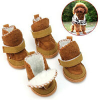 Warm Winter Cozy Pet Dog Chihuahua Boots Puppy Shoes Small Dog SP